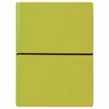 Ciak Leather Journals with Multicolored Pages - Green