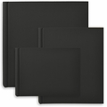 Classic European Bookcloth Photo Albums Black