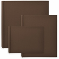 Classic European Bookcloth Photo Albums Brown