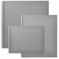 Classic European Bookcloth Photo Albums Grey