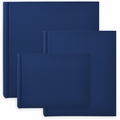 Classic European Bookcloth Photo Albums Navy Blue