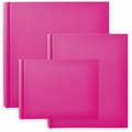 Classic European Bookcloth Photo Albums Pink