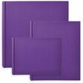 Classic European Bookcloth Photo Albums Purple