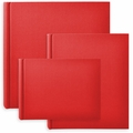 Classic European Bookcloth Photo Albums Red