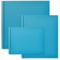 Classic European Bookcloth Photo Albums Turquoise