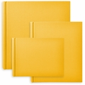 Classic European Bookcloth Photo Albums Yellow