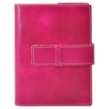 Colori Italian Leather Refillable Journal Fuchsia