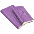 Colori Italian Leather Refillable Journal Lilac
