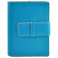 Colori Italian Leather Refillable Journal Turquoise