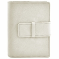Colori Italian Leather Refillable Journal White