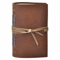 Crossroads Hand Stitched Pocket Journal