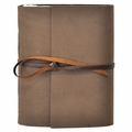 Damascus One of a Kind Leather Journal