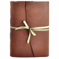 Delphinium Handmade Leather Journal