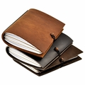 Explorer Refillable Leather Notebook