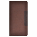 Faux Leather Slim Wallet 2014 Planner - Brown
