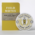 Field Notes Drink Local 3 Pack - Lagers