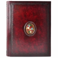 Fiori Hand Painted Leather Album