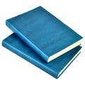 Harborview Leather Bound Journal - Azure