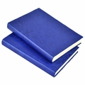 Harborview Leather Bound Journal - Cobalt