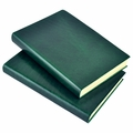 Harborview Leather Bound Journal - Emerald