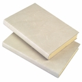 Harborview Leather Bound Journal - Ivory