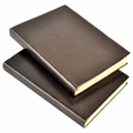 Harborview Leather Bound Journal - Mocha