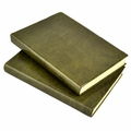 Harborview Leather Bound Journal - Olive