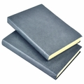Harborview Leather Bound Journal - Slate