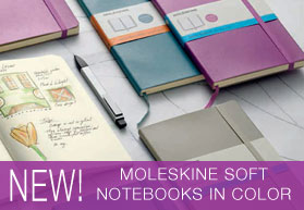 Moleskine Soft Notebooks in Color