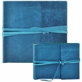 Islander Leather Photo Album Azure