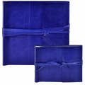 Islander Leather Photo Album Cobalt