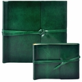 Islander Leather Photo Album Emerald
