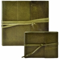 Islander Leather Photo Album Olive