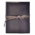 Islander Leather Wrap Journal - Mocha