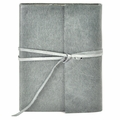 Islander Leather Wrap Journal - Slate