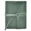 Islander Leather Wrap Journal - Spruce