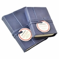 Journalino Pocket Leather Journal - Indigo