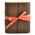 Ladyslipper Leather Journal with Artist Papers