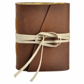 Laurel Wreath Handmade Leather Journal