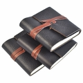 Leather Wrap Sticky Note Pad