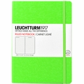 Leuchtturm 1917 Large Ruled Notebook Neon Green