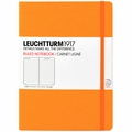 Leuchtturm 1917 Large Ruled Notebook Neon Orange