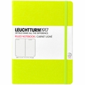 Leuchtturm 1917 Large Ruled Notebook Neon Yellow