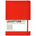 Leuchtturm 1917 Master Notebook Squared Red
