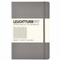 Leuchtturm 1917 Pocket Notebook Squared Anthracite