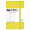 Leuchtturm 1917 Pocket Ruled Notebook Lemon