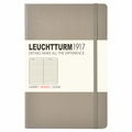 Leuchtturm 1917 Pocket Ruled Notebook Taupe