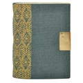 Mera Tribal Linen Journal Grey