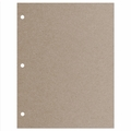 Mix and Match Refill Kraft Cardstock Pages, Pack of 10