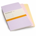 Moleskine Large Ruled Cahier Set of 3 Pastels